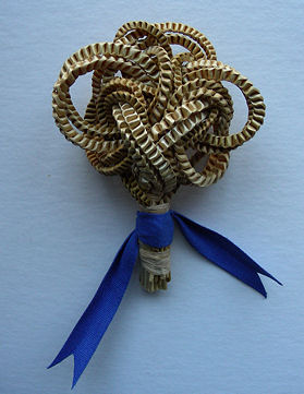 an example of a traditional wedding favour from Ireland